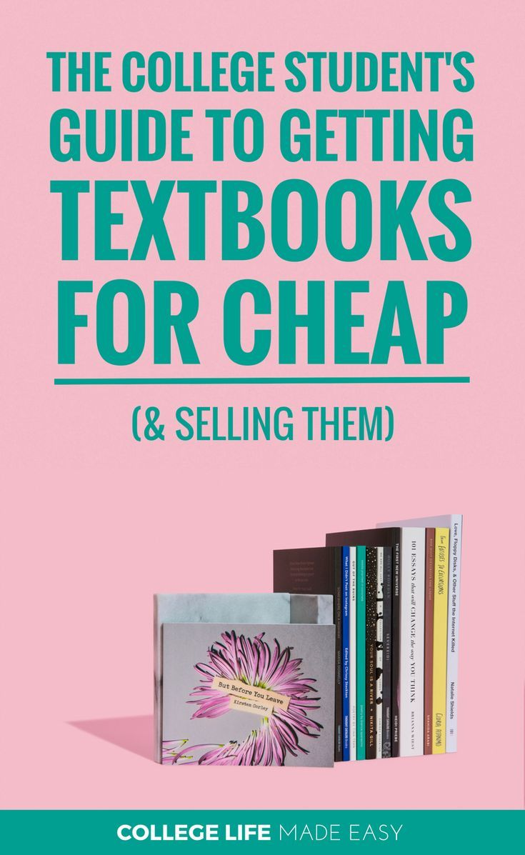 Where to Get Cheap Textbooks for College / Best Websites for Buying & Selling Student Textbooks / #college #collegelife #university #student #budgeting #frugal #frugalliving #collegeproblems #collegetips #collegehumor