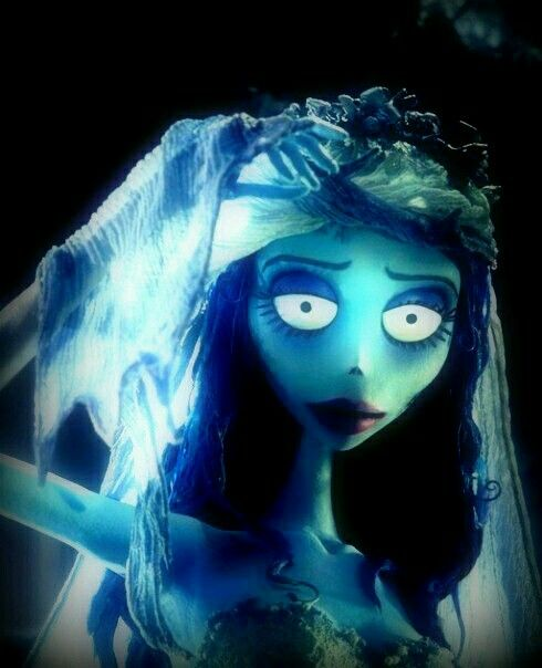 ~† Helena Bonham Carter ~As Emily In  A Scene From Corpse Bride ~