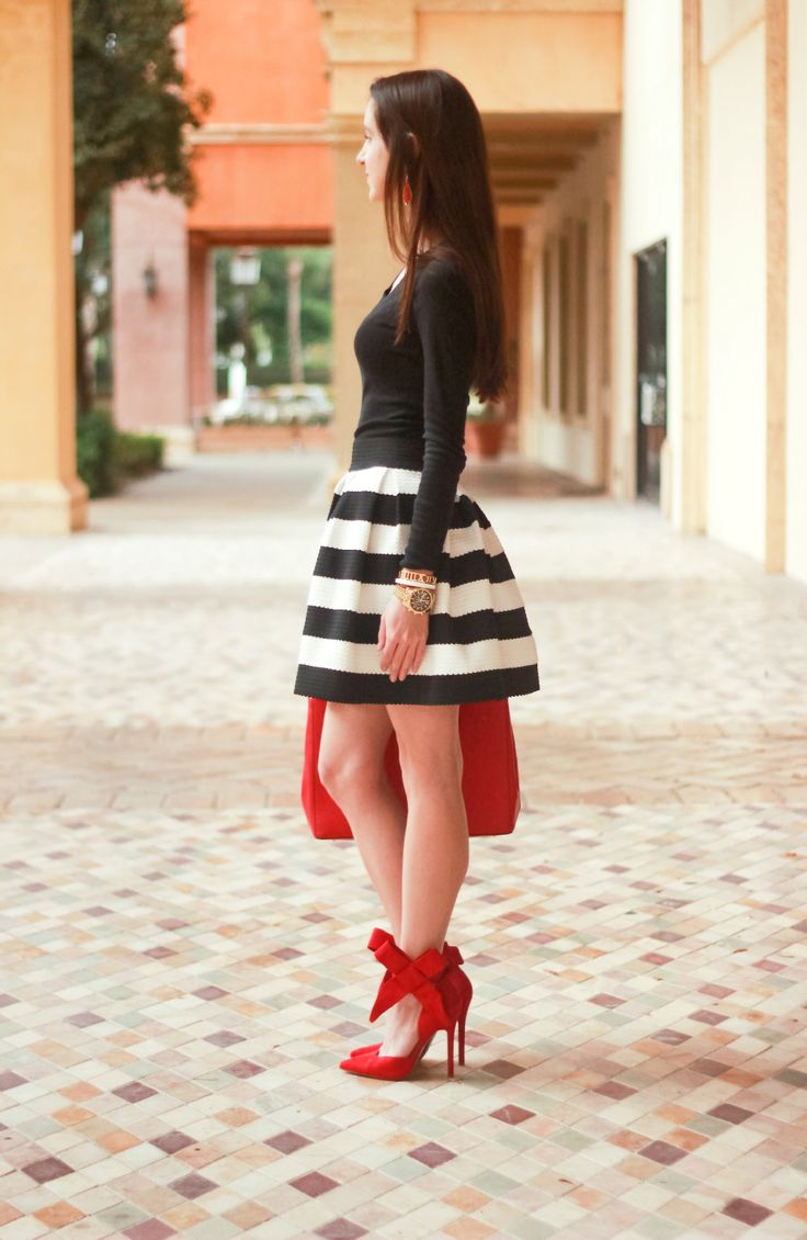 Wrapped in Red: Red Suede Bow Heels - Diary of a Debutante
