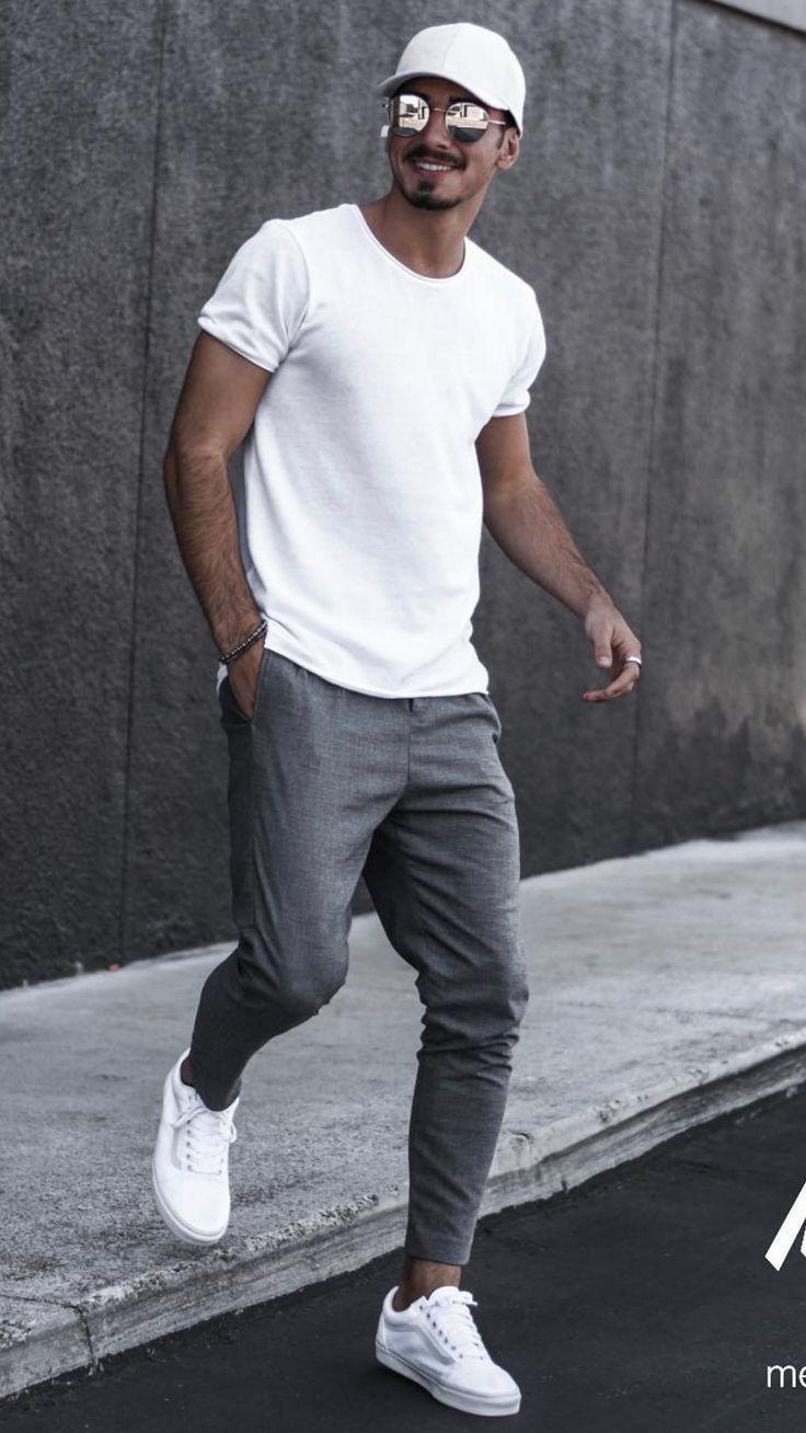 5 Jogger-Outfits für Männer #joggers #mens #fashion #street #sty