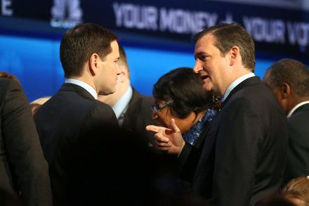 Ted Cruz and Marco Rubio Grow Apart as Their Ambitions Expand