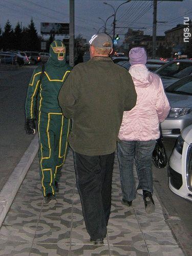 Настоящий Пипец: супергерои выходят на улицы (ФОТО)