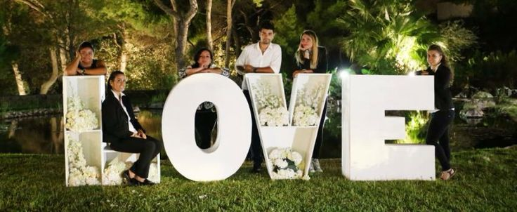 Staff of wedding love