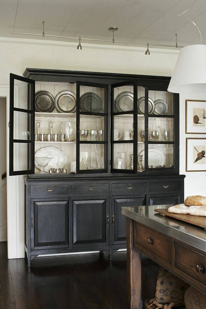 best 25+ black hutch ideas on pinterest | painted china hutch