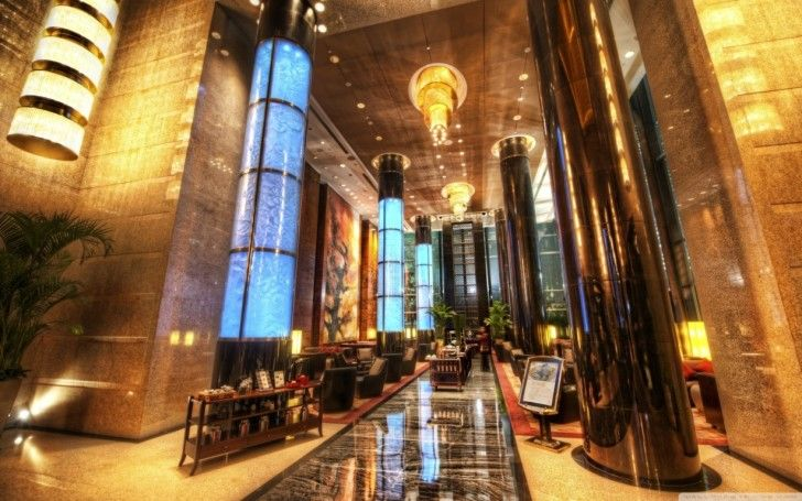 Hotel HD Wallpapers: Grand Millenium Lobby Hotel In Beijing ~ celwall.com Cool Wallpapers Inspiration