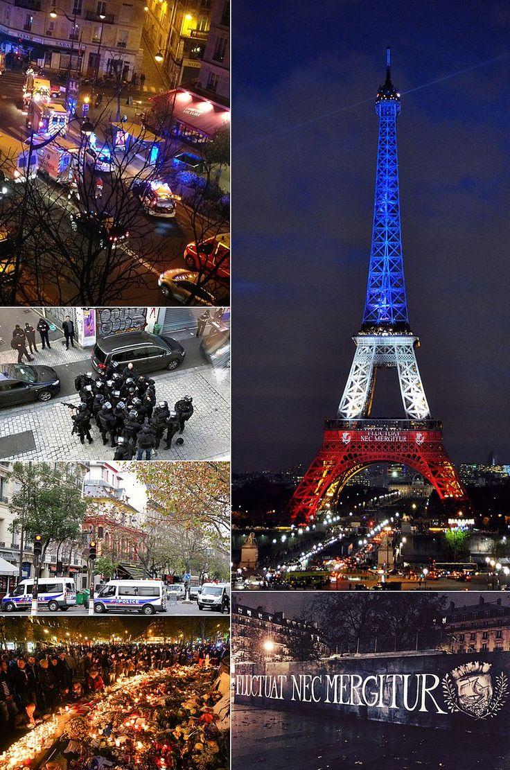 plusieurs Attentats du 13 novembre 2015 en France