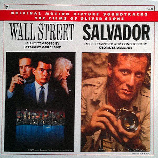 Stewart Copeland, Georges Delerue - Wall Street / Salvador Original Motion Picture Soundtracks: buy LP, Comp at Discogs