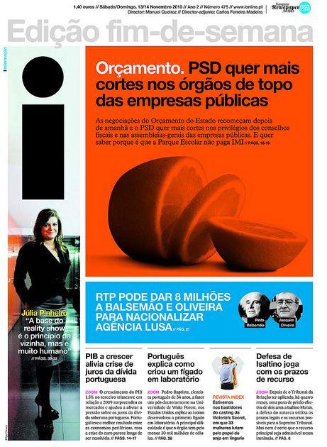 Portuguese Daily Named World's Best-Designed Newspaper - DesignTAXI.com