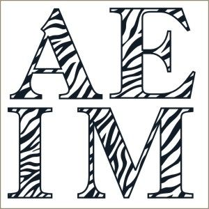 25 Best Ideas About Monogram Stencil On Pinterest