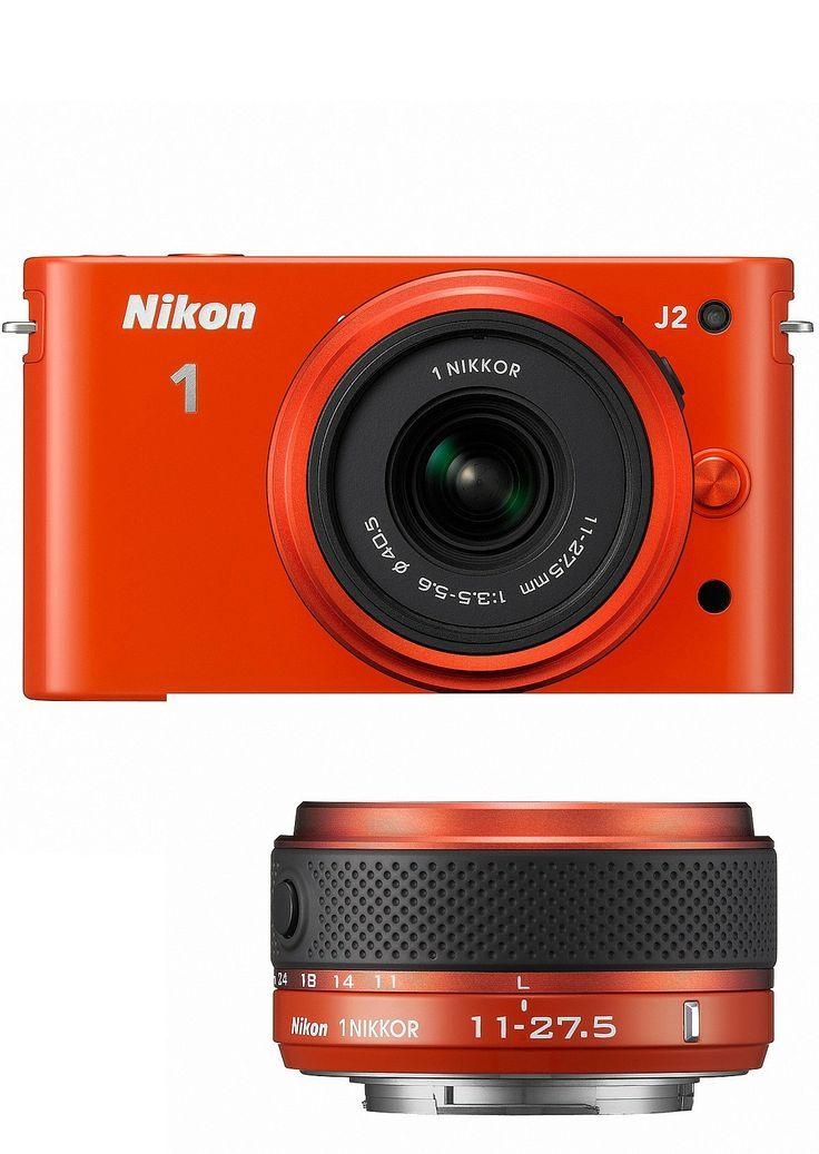 NetAnttila - Nikon 1 j2 +11-27,5 oranssi   Digikamerat