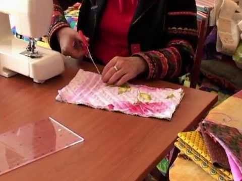 10 видео уроков по пэчворку от Ларисы Денисовой, автора книги «Лоскутное шитье России» - Сам себе волшебник