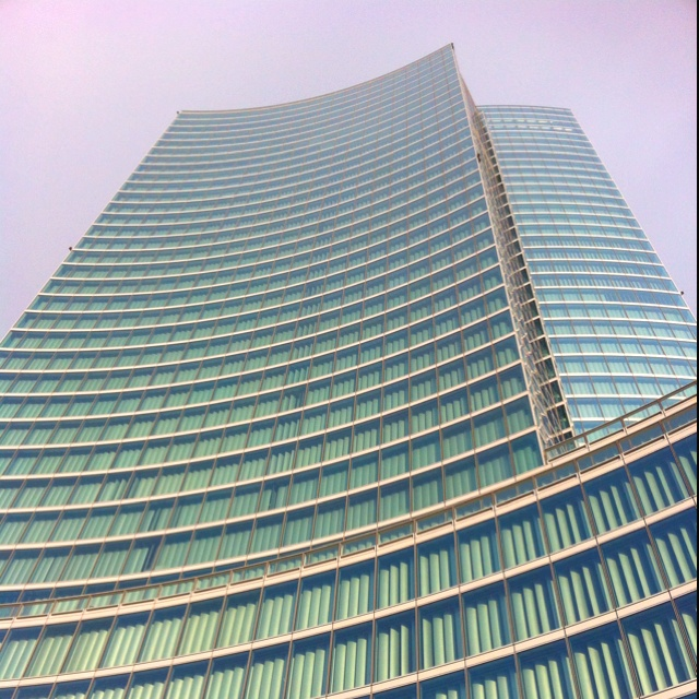 Palazzo della Regione Milano 161,3 mt Architetto Pei Cobb Freed & Partners NY
