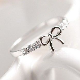 Aliexpress.com : Buy 71095 accessories brief cutout diamond bow ring 2013 finger ring female from Reliable partner ring suppliers on Jessie's shop. $6.49