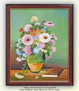 Poza Poezia florilor (8) - tablou ulei pe panza,