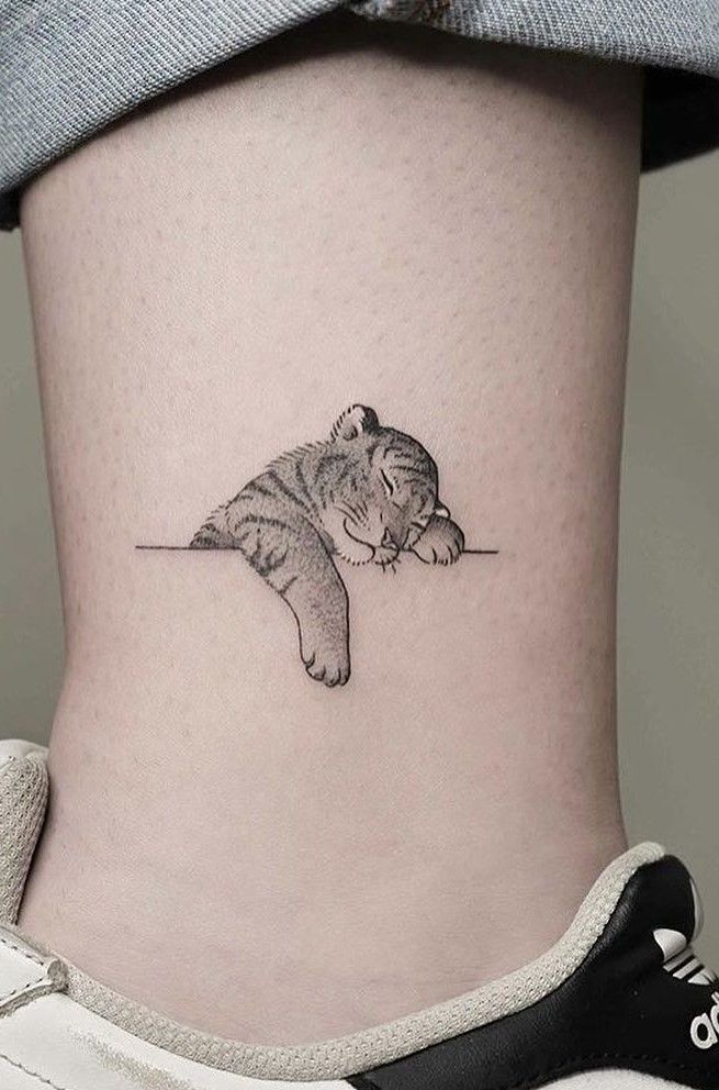 Tiger Tattoo Designs To Express Your Braveness Cool Small Tattoos Tattoos Small Tattoos