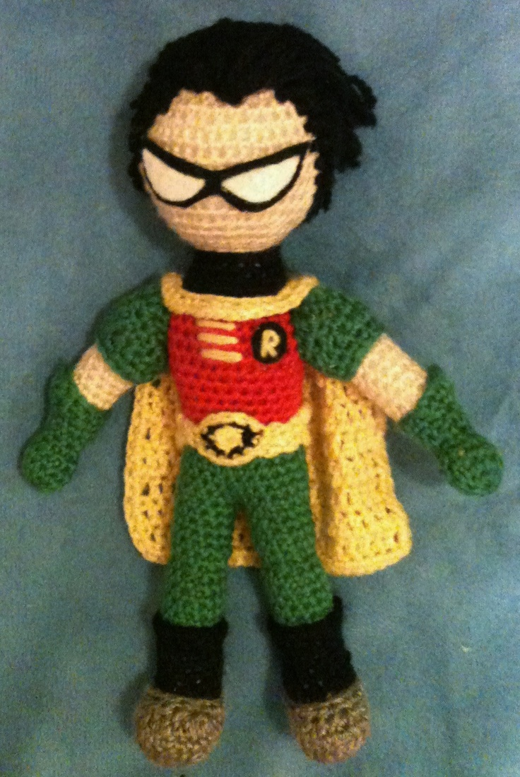 "Robin, from ""Teen Titans"""