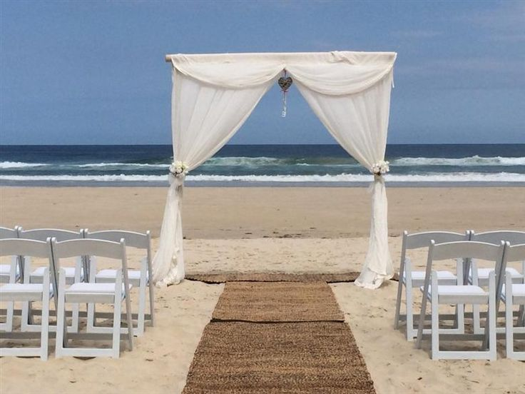 Peppers Salt Resort & Spa - beach wedding setting