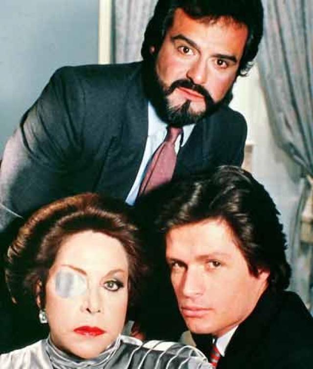 Catalina Creel, Alejandro Larios Creel y Jose Carlos Larios