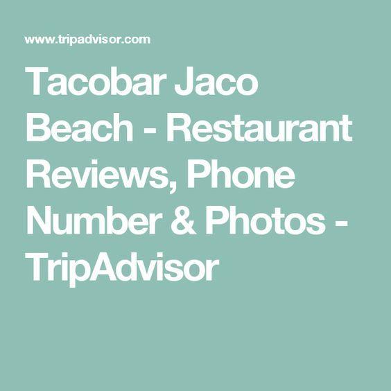 Tacobar Jaco Beach - Restaurant Reviews, Phone Number & Photos - TripAdvisor