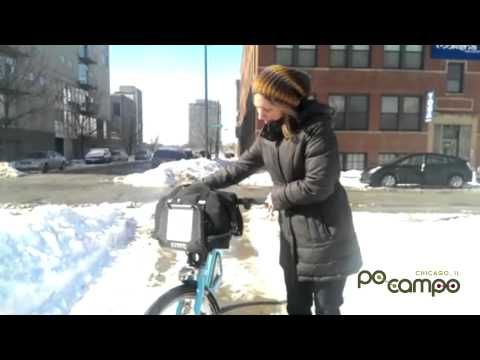 First Look at Po Campo's New Bike Share Bag - YouTube