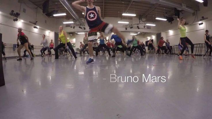 Latin Combo Dance Workout for La Boheme dance group at Gustafson dance.
