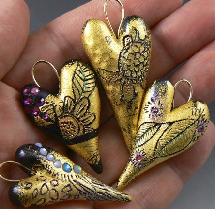 """""""Golden Hearts: Sgraffito"""" -- August 19, 2017 12pm-1pm"""