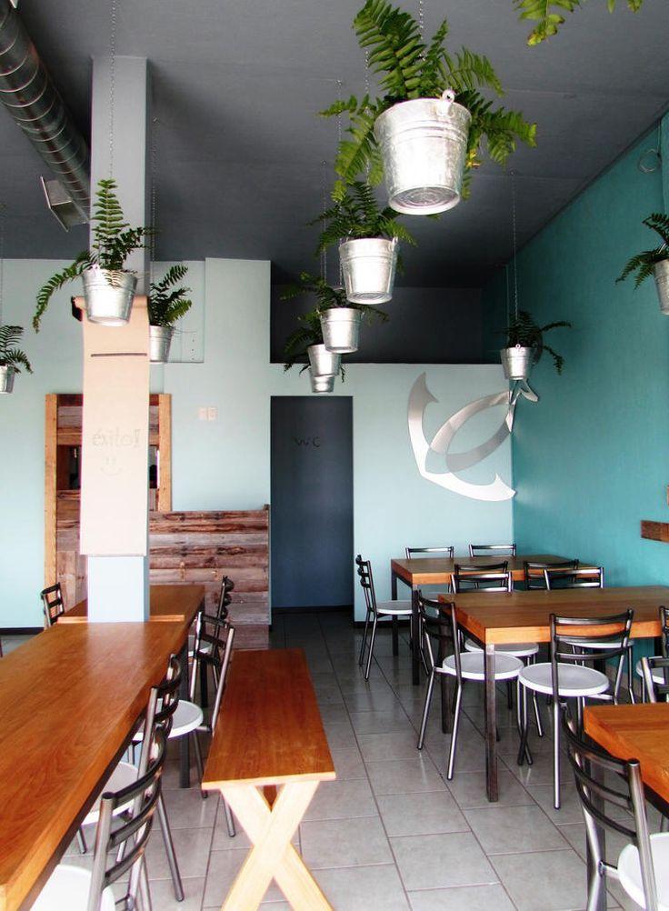 Restaurante de mariscos dise o interior mayra llamas for Disenos de interiores restaurantes