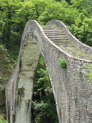Plaka-Brücke, Ioannina, Epirus, Greece