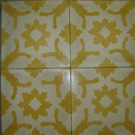 Snowflake Yellow Cuban Pattern Tiles Obsessed With Cuban