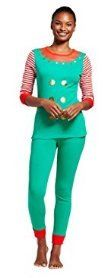 Family Matching Christmas Elf Pajamas PJs Sets for the Family