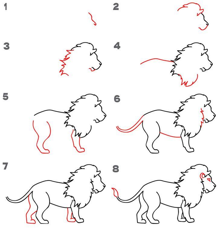 Kolay Hayvan Çizimi 47 Adet Örnek Şablon