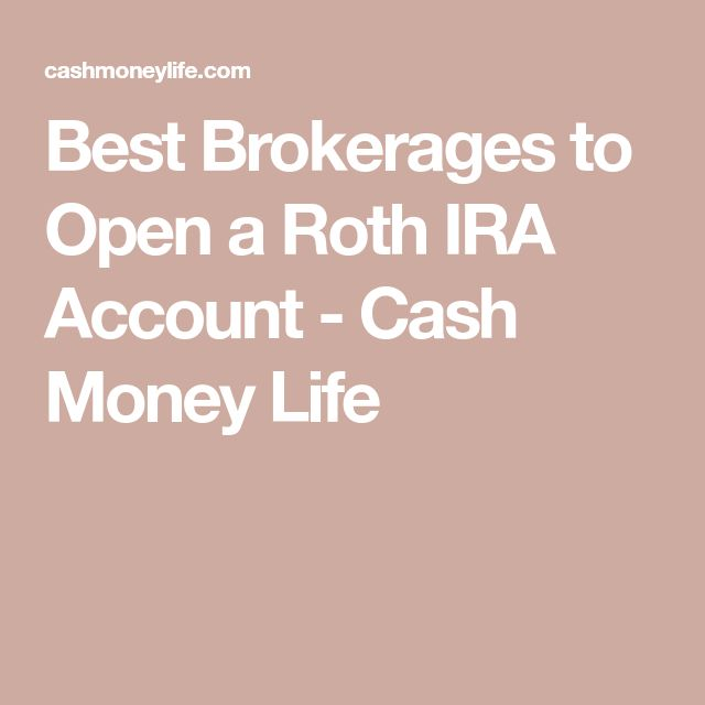 Cash ira account