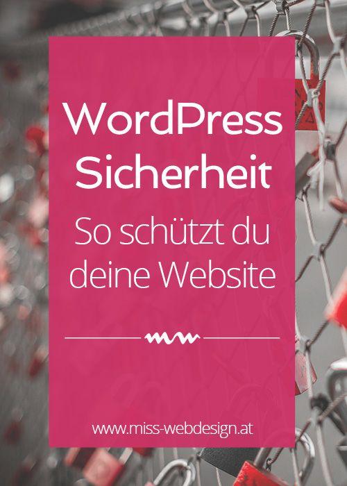 WordPress Sicherheit – so schützt du deine Website – Das virtuelle Büro
