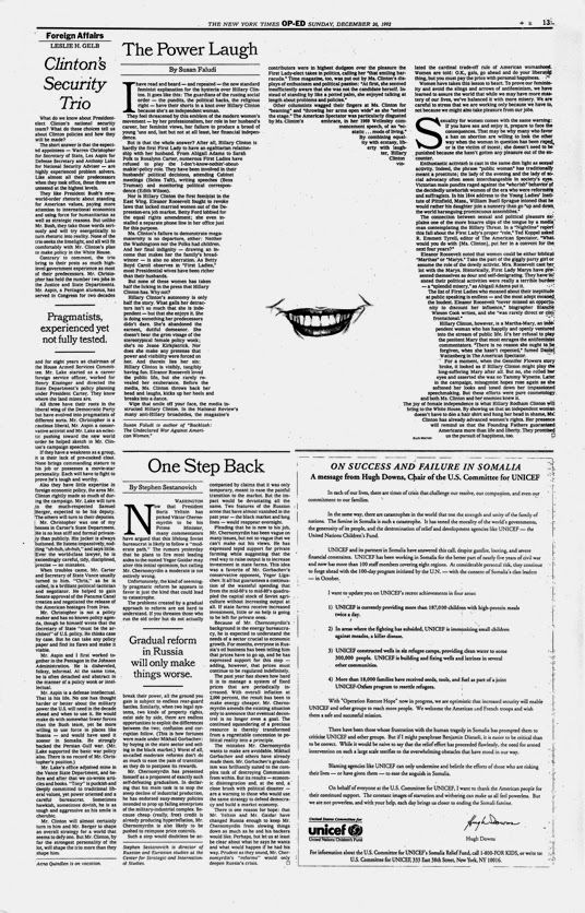 From 1992-1993 I was the art director of New York Times Op-Ed pages.   I had the extreme pleasure to work with some of the top writers...