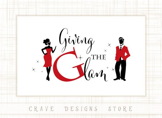 Girl catchy Glamourous logo design Party in Town illustration Party in Town  Chic Illustration  Logo design