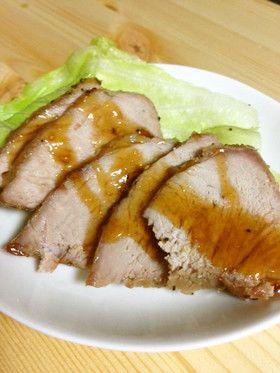 簡単時短☆キャベツ美味しいレンジで焼き豚 by ウチのご飯だよ ...