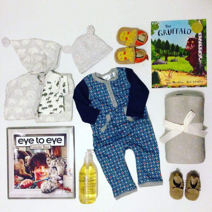 Baby flat lay, books, seed heritage, blanket, shoes, baby wash hat, Japanese inspired onesie