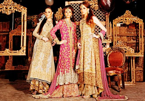 Bridal lenghas by Sana Safinaz