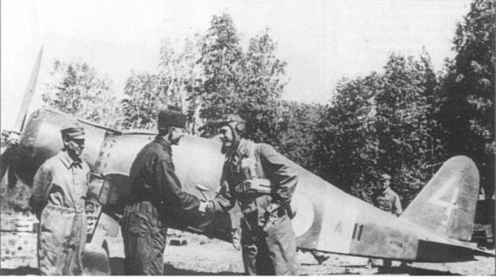 FIAT G.50 bis della Suomen Ilmavoimat - Aviazione finlandese