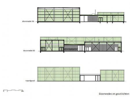 Buurtsporthal Kiel (UR architects) zet in op lokale recreatie *Foto's: Dries Luyten *Ontwerpbeelden: UR Archhitects