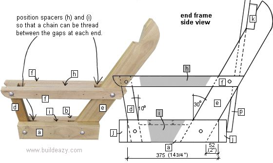 How to Make a Porch Swing. Step - by - step guide with cut list.