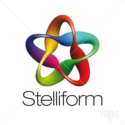 40 rainbow colored logo designs | StockLogos.com