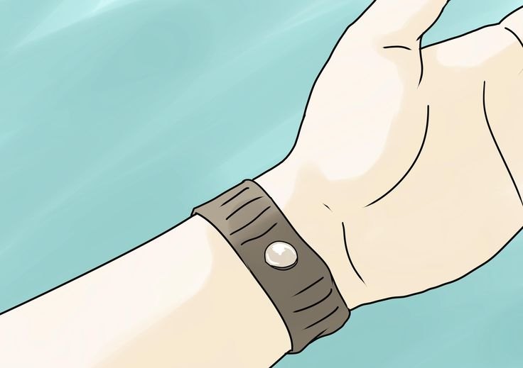 How to Stop Nausea With Acupressure -- via wikiHow.com