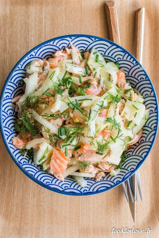 salade fenouil 2 saumons aneth-10 Lire la suite :http://www.sport-nutrition2015.blogspot.com