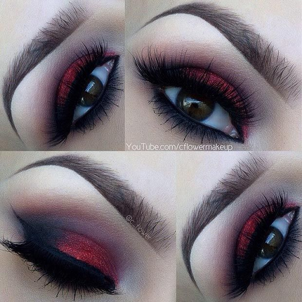 make up yeux marrons idea brown tuto maquillage