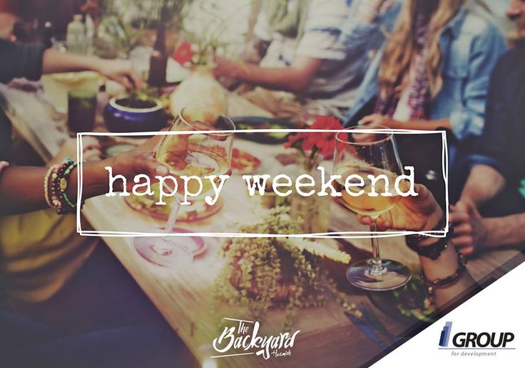 The weekend is finally here :D  #IGroup #IGroupDevelopment #TheBackyardHazmieh #MeetMeAtTheBackyard #EnjoyYourWeekend #HappyWeekend #WeekendDestination #Hazmieh #Lebanon