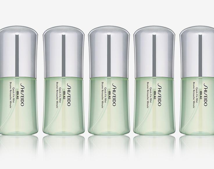 Il flacone piatto di Quick Fix Mist è progettato per garantire la massima praticità ed essere perfetta, sempre! http://www.shiseido.it/product/quick-fix-mist/