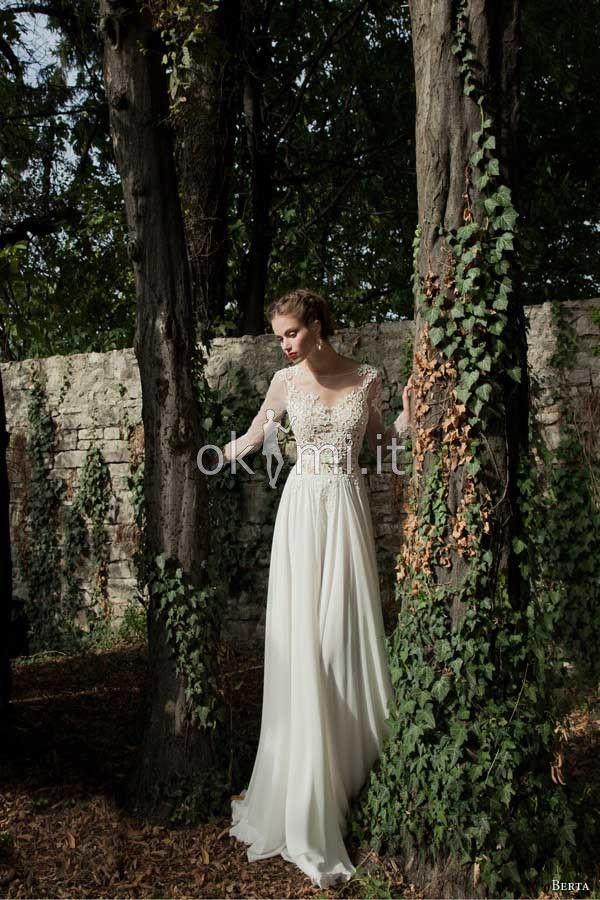 grande immagine 2 Abiti da Sposa Barchetta Elegante Formale Naturale A-Line