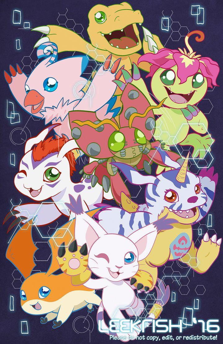 Digital All Stars By Abbystarling Digimon Wallpaper Digimon Adventure Digimon