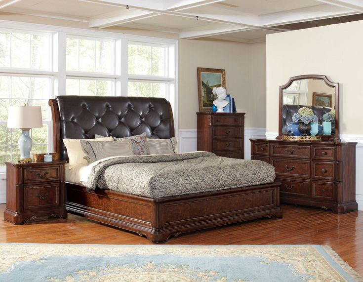 california king bedroom sets with mirror dressers and nightstand